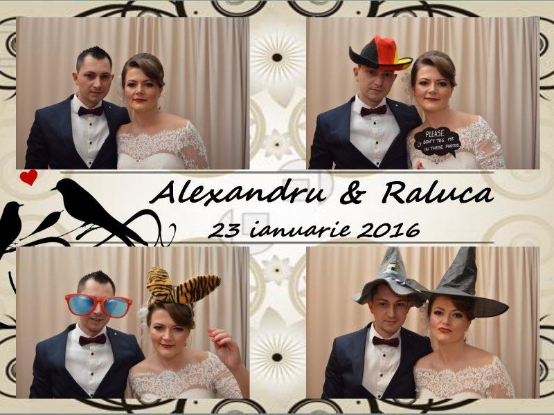 Alexandru si Raluca 23.01.2016