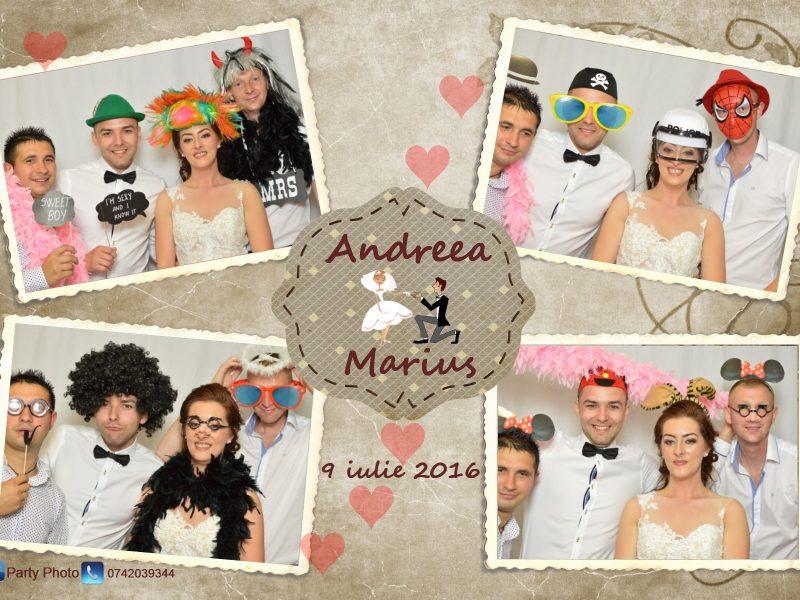 Andreea si Marius 9.07.2016