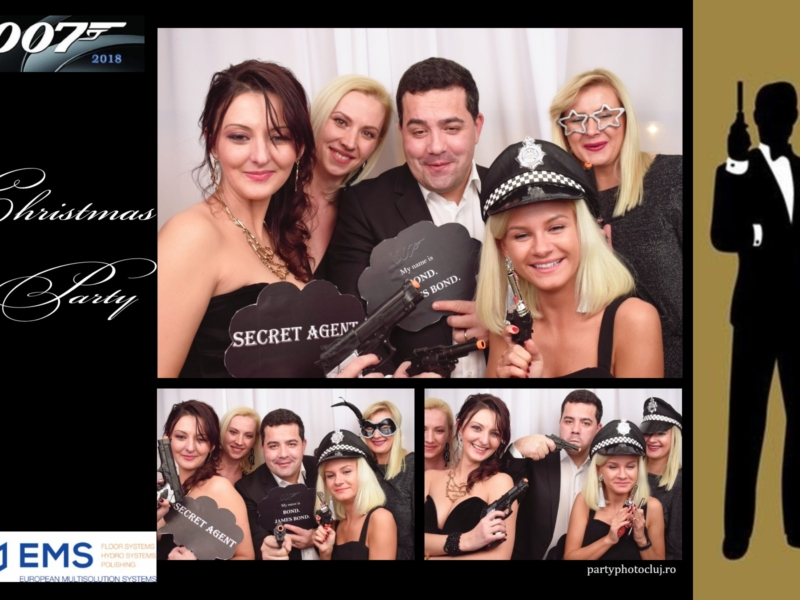 EMS Floor James Bond Party 14.12.2018