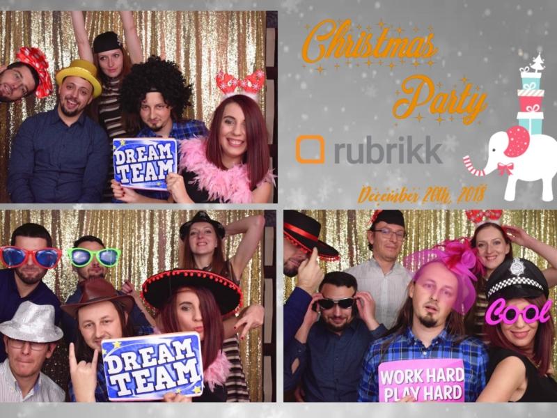 Rubrikk Christmas Party 20.12.2018